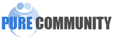 Pure Community logo